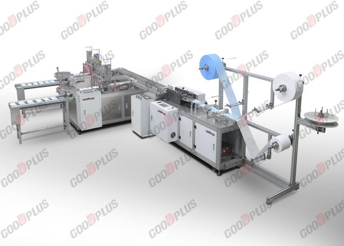 MK-290 X 3 Layer Mask Making Machine with Outer welding machine